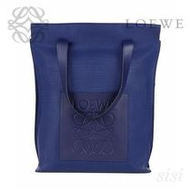 LOEWE★ロエベ Shopper Bag Navy Blue
