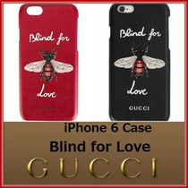 2017SS GUCCI★iPhone6 モバイルケース Blind for Love