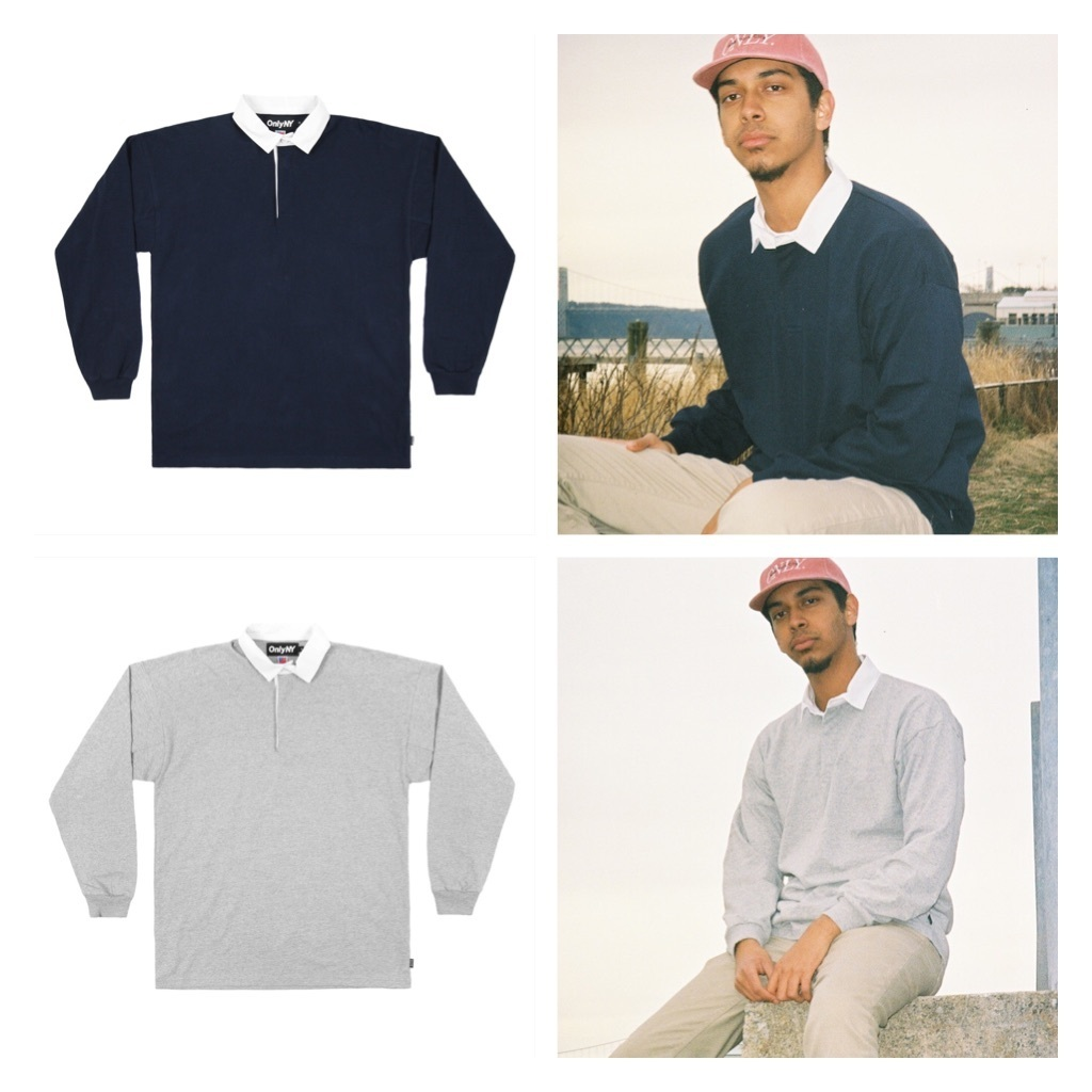 17SS☆!早期完売☆ONLY NY☆Premium Knit Rugby