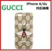 2017SS GUCCI★iPhone6/6s モバイルケース Blind for Love