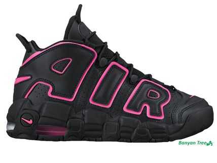 NIKE AIR MORE UPTEMPO ブラック / ピンク
