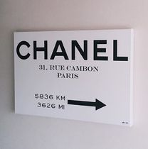 Oliver Gal★Couture Road Sign Minimalist★キャンバス 76x51