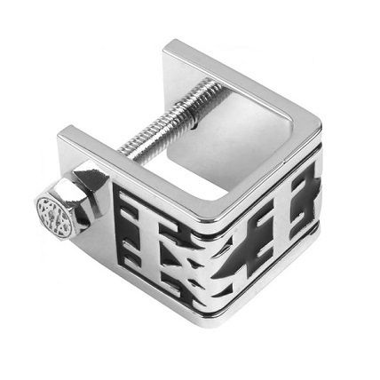 -KTZ-two-tone color design silver ring