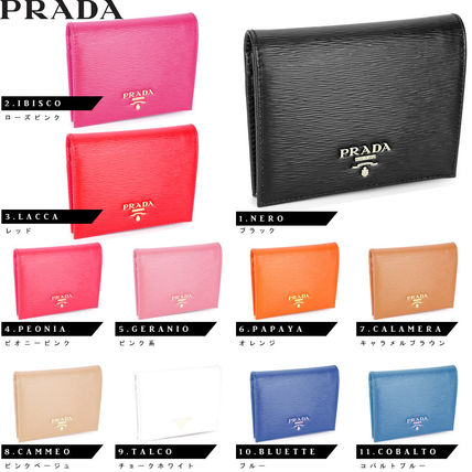 authenti guarantee Italy from PRADA bifold wallet 1M0204