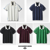 ADIDAS ORIGINALS BY ALEXANDER WANG  ベロア ポロシャツ