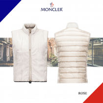 MONCLER(モンクレール) ダウンベスト 新作 MONCLERモンクレール ROSEパネルダウンベスト Gris Clair