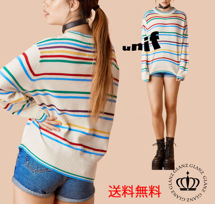 Cute resale Unif oversized Caravel color knit sweaters