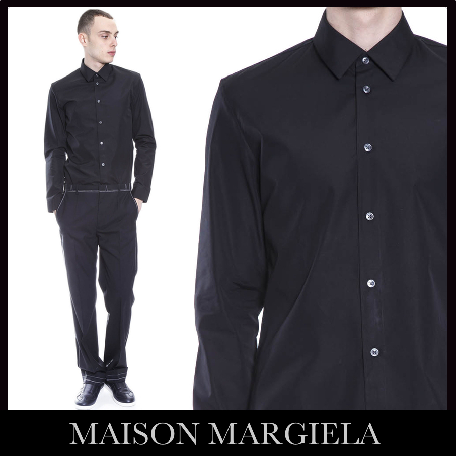 【VIP】数量限定MAISON MARGIELA ICONIC STITCHING COTTON SHIRT