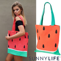 SUNNYLIFE サニーライフ  Tote Bag	Watermelon