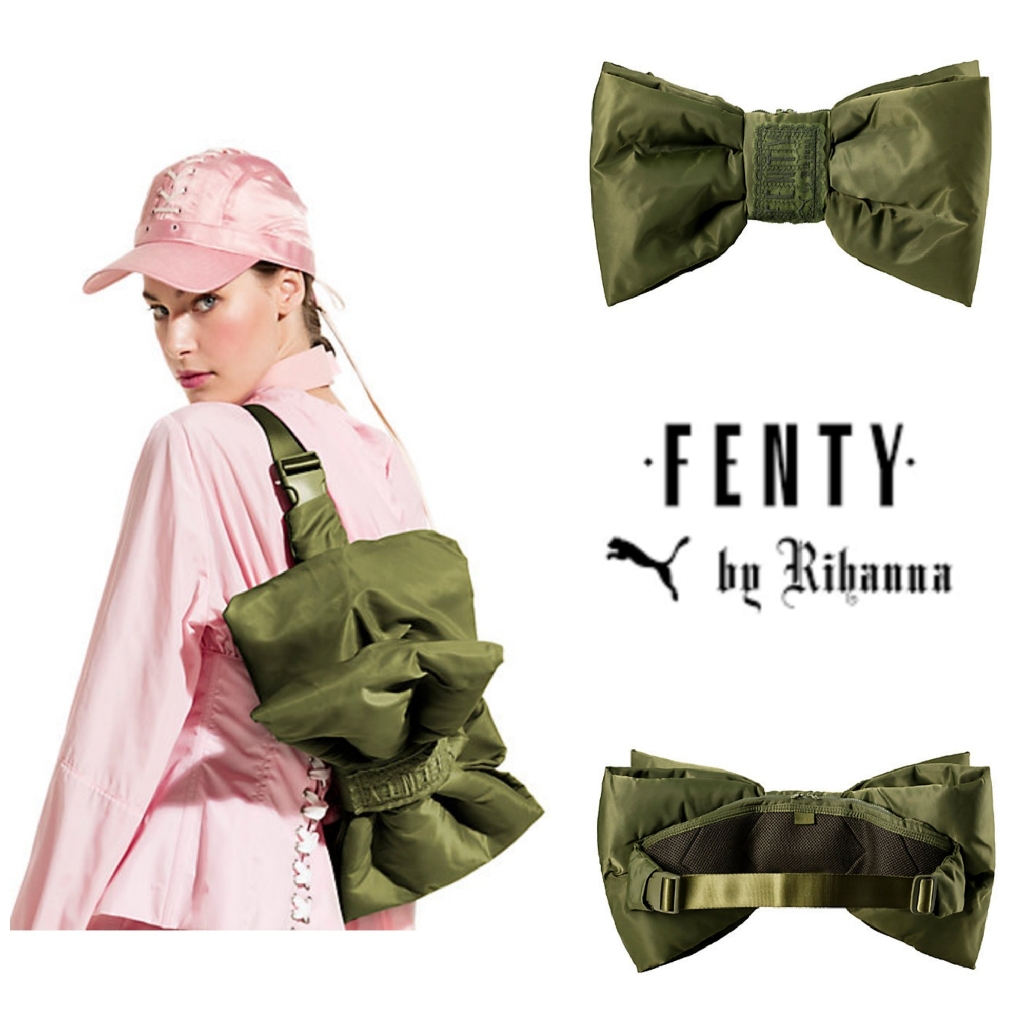 Puma FENTY by Rihanna☆BOW CROSSPACK☆ボウバッグ OLIVE