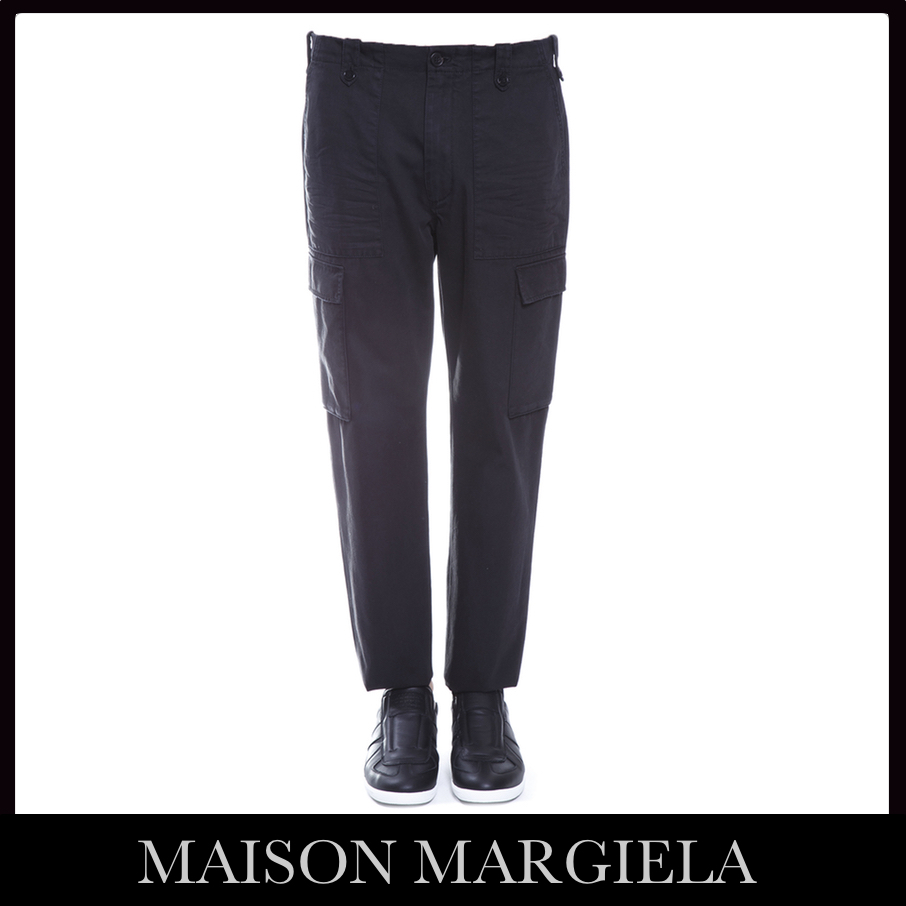 【VIP】数量限定MAISON MARGIELA CARGO TROUSERS IN COTTON 新作