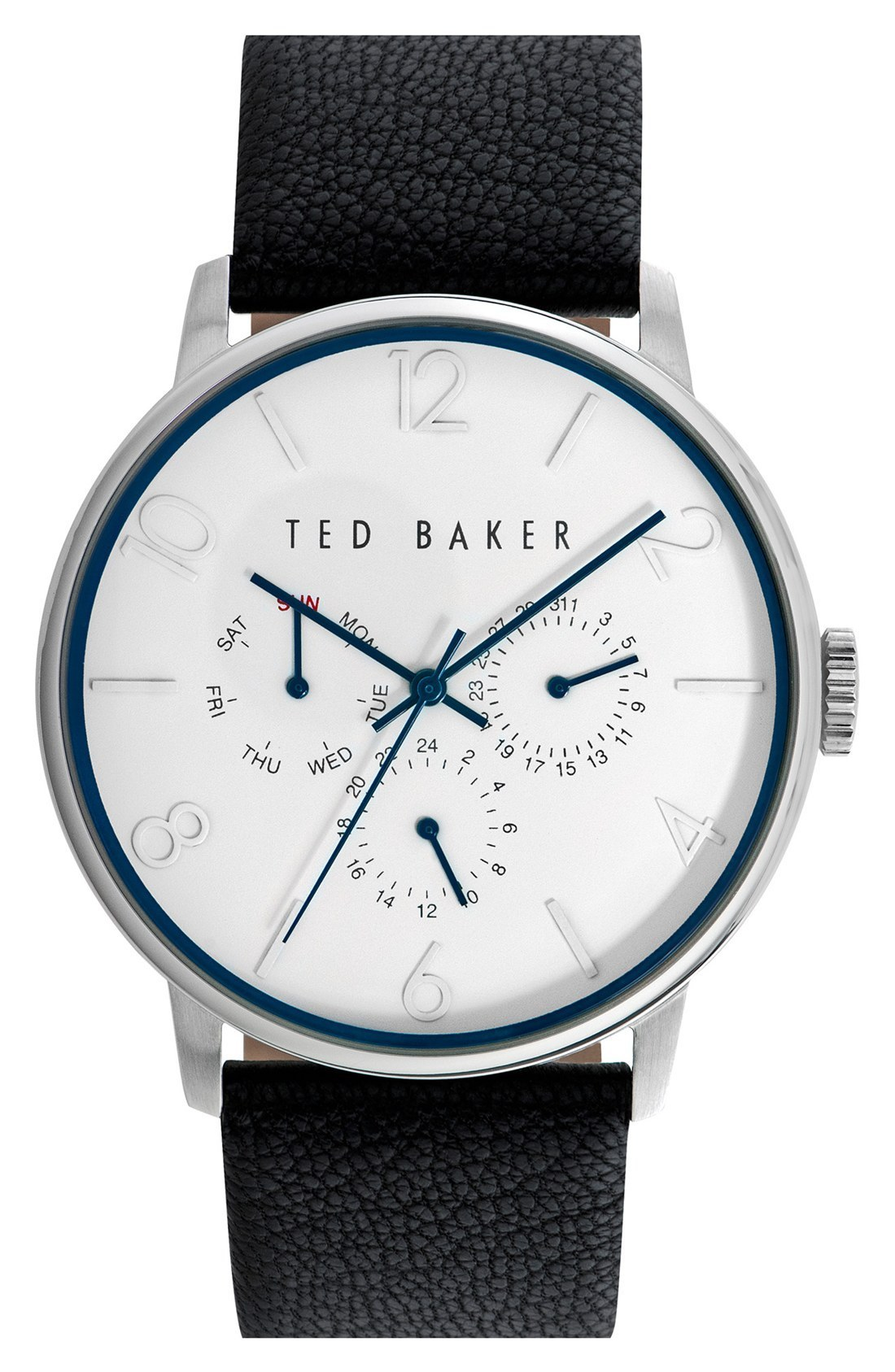 大人気!!TED BAKER★Multifunction Leather Str★メンズ腕時計