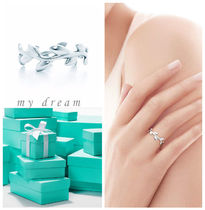 【Tiffany & Co】Paloma Picasso Olive Leaf Band Ring silver