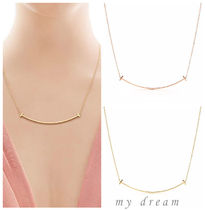 【Tiffany & Co】T Smile Pendant Large (gold or rose gold)