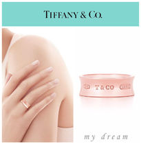 【Tiffany & Co】1837 Ring in Rubedo Metal