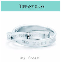 【Tiffany & Co】INTERLOCKING CIRCLES RING in sterling silver