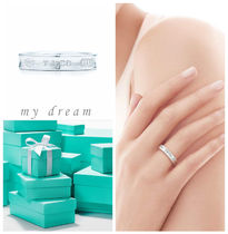 【Tiffany & Co】Tiffany1837 Narrow Ring in sterling silver