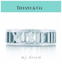 【Tiffany & Co】ATLAS OPEN WIDE RING in sterling silver