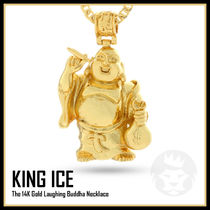 LA発★King Ice★Laughing Buddha Necklace★送料税込/国内発送