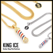 LA発★King Ice★Barber Shop Pole Necklace★送料税込/国内発送