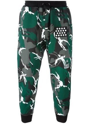 KTZ camouflage tapered trou pants Street inspection