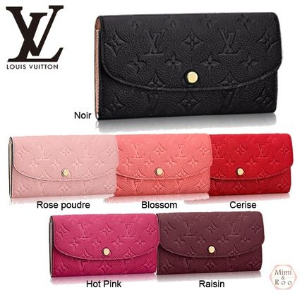 Louis Vuitton Monogram PORTEFEUILLE EMILIE * long wallet