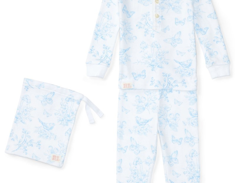 新作♪ 国内発送 FLORAL COTTON SLEEP SET girls 0~24M