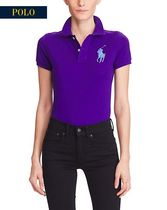新作!★★送料関税込★★ SKINNY-FIT BIG PONY POLO SHIRT