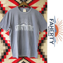 Faherty Brand x GOOD LIFE:ビーチTシャツ/Faded Navy