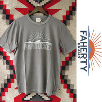 Faherty Brand x GOOD LIFE:ビーチTシャツ/Faded Black