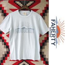 Faherty Brand x GOOD LIFE:ビーチTシャツ/Light Blue
