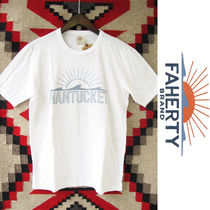 Faherty Brand x GOOD LIFE:ビーチTシャツ/White