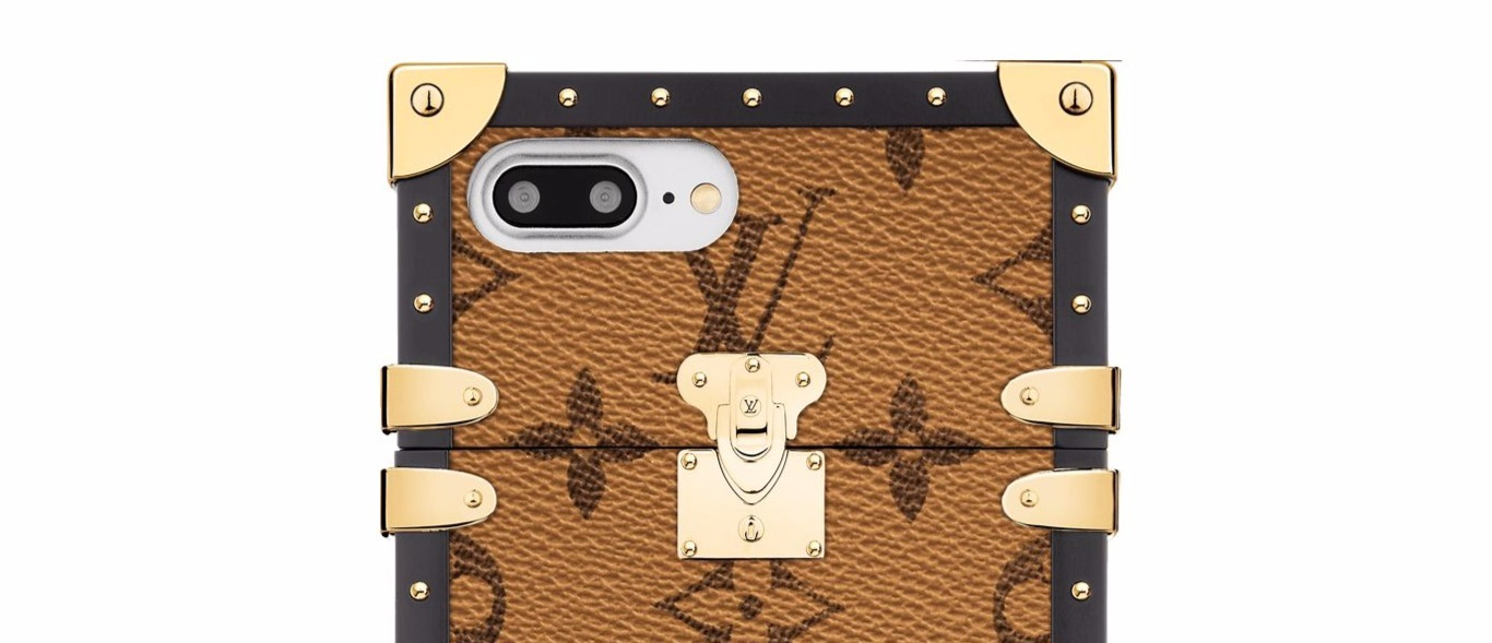 Louis Vuitton☆モノグラム☆EYE-TRUNK POUR IPHONE 7☆iPhone7
