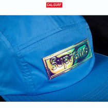 Supreme(シュプリーム) IRIDESCENT LOGO CAMP CAP /blue