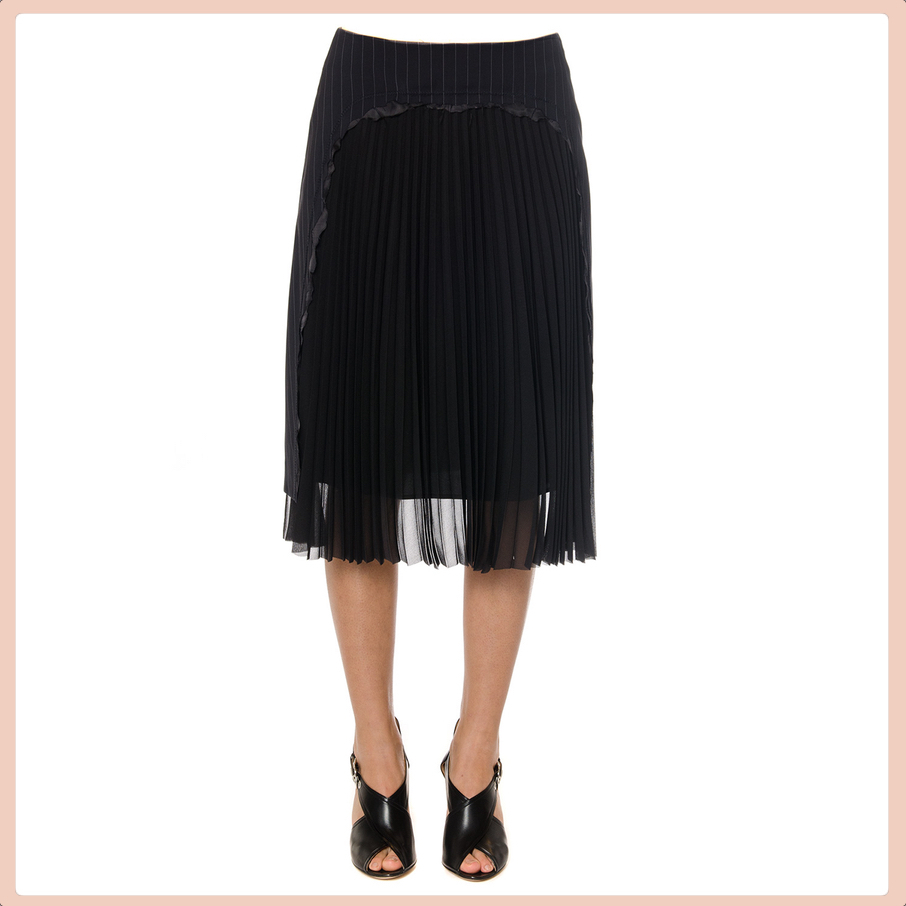 【VIP】数量限定 MAISON MARGIELA PLEATED PANEL SKIRT 春夏新作