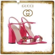 ★★GUCCI《グッチ》GG MARMONT SANDALS IN SUEDE★送料込み★★