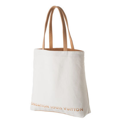Louis Vuitton トートバッグ ☆パリ限定☆人気ファンダシオンルイヴィトン美術館トートバッグ(3)