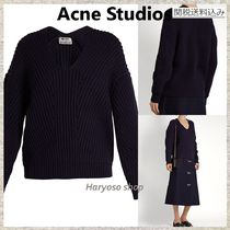 【国内発送】Acne★Bernice Chunky cotton-blend sweater