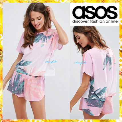 ASOS Palm tree design Relax wear