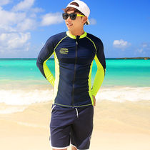 ☆SWIMMING SUIT☆ZIP-UP RASHGUARD (RT0041-2) + パンツセット