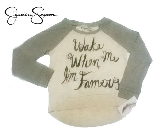 ジェシカシンプソン Toddler Girls Thela Famous Sweatshirt