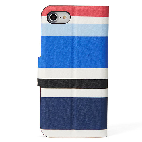 即納★kate spade/NEW WALTZ STRIPE WRAP IPHONE 7★WIRU0559