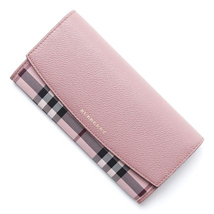 Burberry long wallet 4041279 PORTER colored:ASH ROSE DUSTY