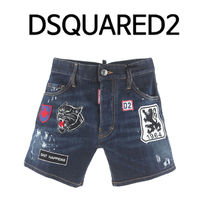 D SQUARED2 (ディースクエアード) ★ MULTI PATCH HALF JEANS