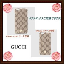 【GUCCI】 iPhone 6 ★ iPhone 6 Plus ケース★パールスタッズ