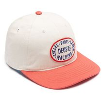 Deus Ex Machina・ALDER CAP CREAM / RED
