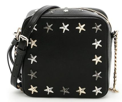 Jimmy Choo studded with cross-body bag