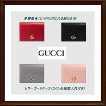 【GUCCI】 多機能★カード・コイン・紙幣★プチウォレット