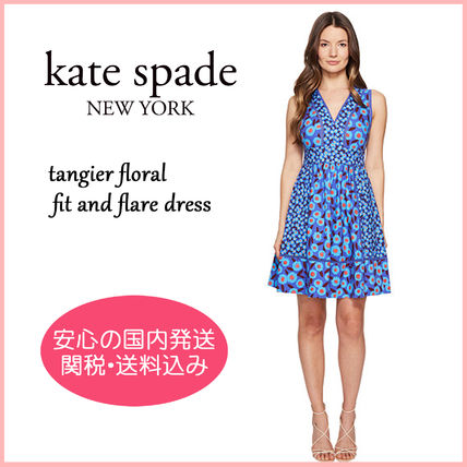 【国内発送】TANGIER FLORAL FIT AND FLARE DRESS セール