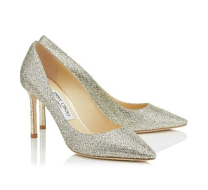 ROMY 85 glitter pumps pointed toe